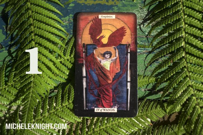 4 of wands