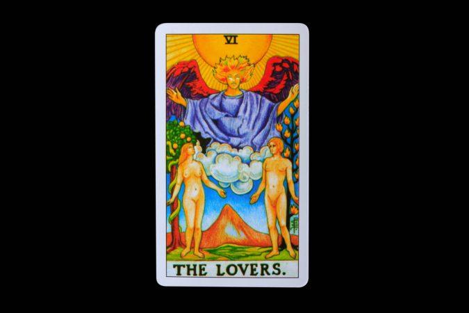 Tarot card The Lovers