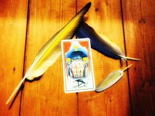 3 of cups tarot card