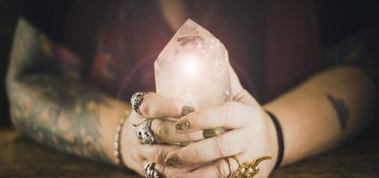 Crystal healing to step into your power