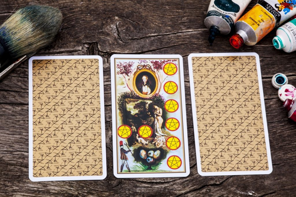 8 of pentacles tarot card