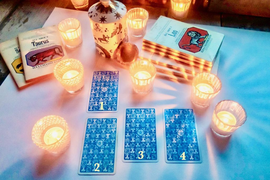 Your Free Love Tarot Reading - Pick One Of The Four Tarot