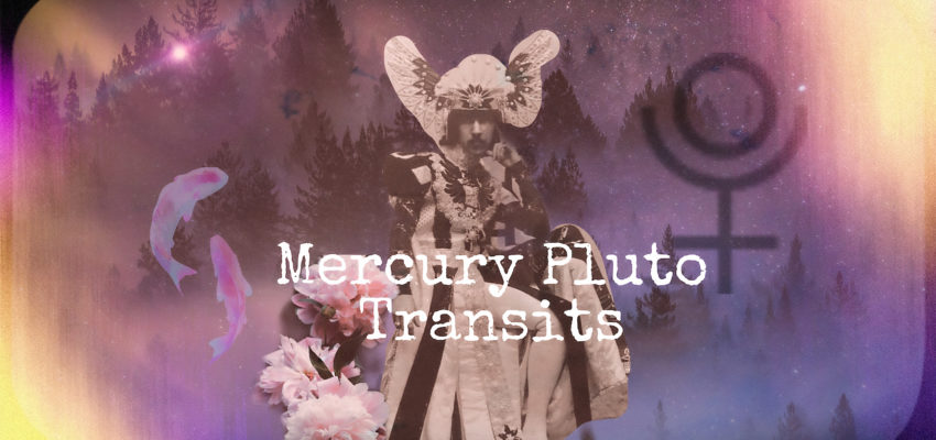 Mercury Pluto transits