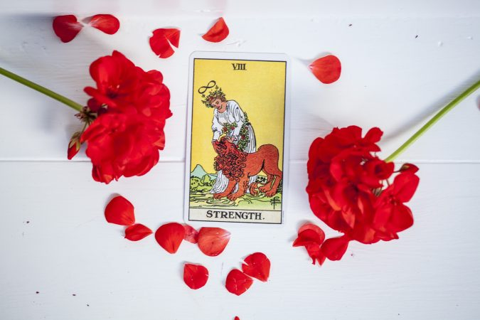 Tarot meaning - The Strength Card