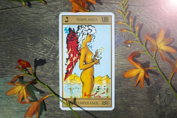 temperence TAROT CARD